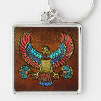 Halcón egipcio llavero personalizado