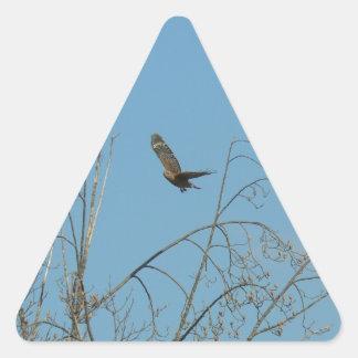 Halcón en vuelo colcomanias trianguladas