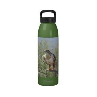 Halcón ferruginoso botella de beber