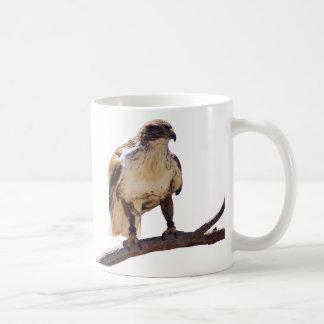 Halcón ferruginoso taza de café