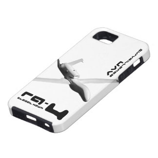 Halcón global RQ-4 iPhone 5 Case-Mate Protectores