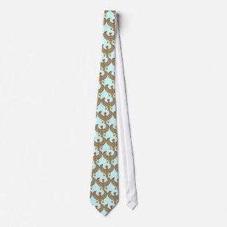 Halcón pectoral corbata personalizada