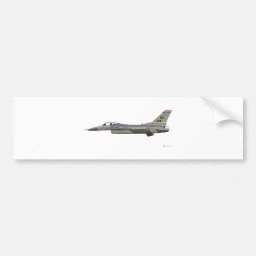 Halcón que lucha AzANG de General Dynamics F-16D Pegatina De Parachoque