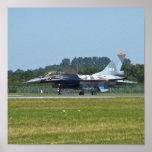 Halcón que lucha F-16 Impresiones