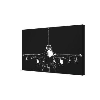 Halcón que lucha F-16 Impresiones De Lienzo