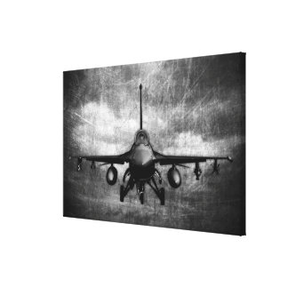 Halcón que lucha F-16 Lona Estirada Galerias