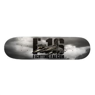 Halcón que lucha F-16 Tabla De Skate