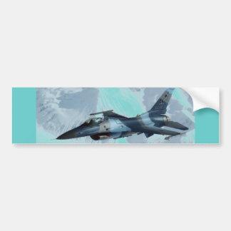 HALCÓN QUE LUCHA F-16 PEGATINA PARA AUTO