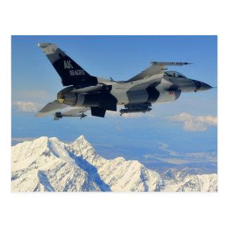 Halcón que lucha F-16 Postales
