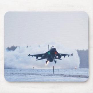 Halcón que lucha F-16 Alfombrilla De Ratón