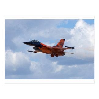 Halcón que lucha F-16 Tarjetas Postales