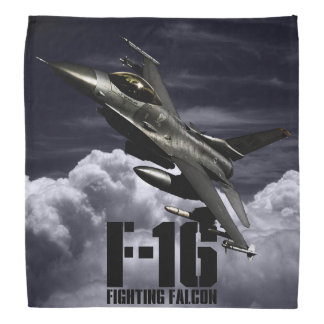 Halcón que lucha F-16 Bandanas