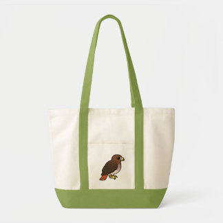 halcón Rojo-atado Bolsa Tela Impulso