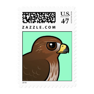 halcón Rojo-atado Timbres Postales