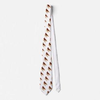 Halcón rojo de la cola corbatas personalizadas