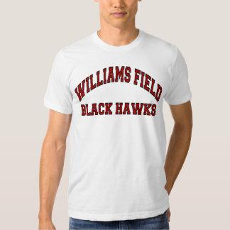 Halcones del negro del campo de Williams Polera