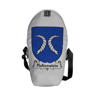 Haldenstein Family Crest Courier Bag