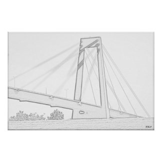 Hale Boggs Bridge Poster