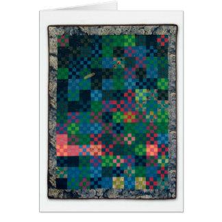 """Hale Bop Quilt"" by Heather Lair Designs Greeting Card"