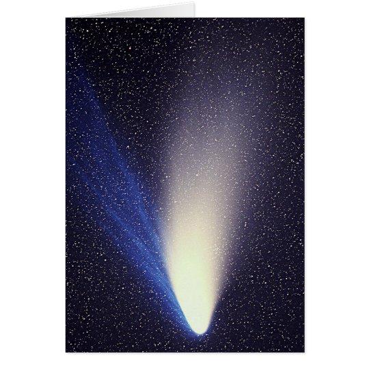 Hale-Bopp Comet in 1997 Card