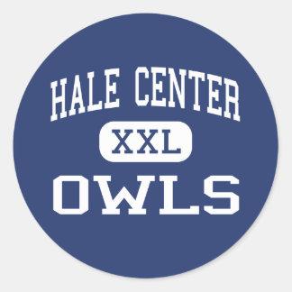 Hale Center - Owls - High - Hale Center Texas Classic Round Sticker