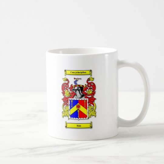 Hale Coat of Arms Coffee Mug