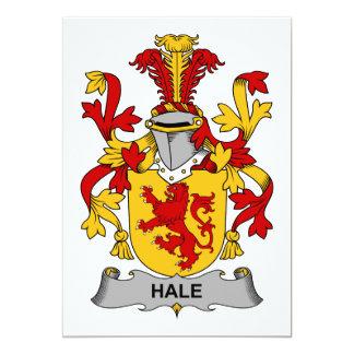 Hale Family Crest Card