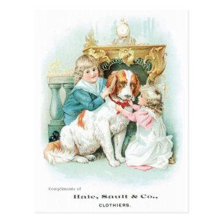 Hale Stault and Co Clothiers Postcard