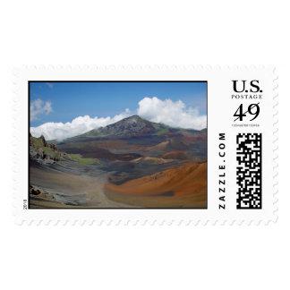 Haleakala Crater Postage Stamp