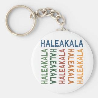 Haleakala Cute Colorful Keychain