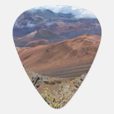 Hawaiian Themed Haleakala Guitar Pick