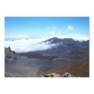 """Haleakala, Hawaii Invitación 5"""" X 7"""""""