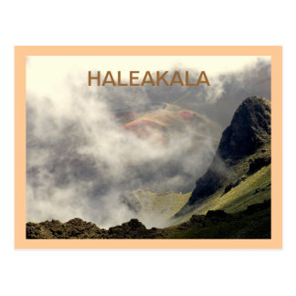 """HALEAKALA IN THE CLOUDS"" POSTCARD"
