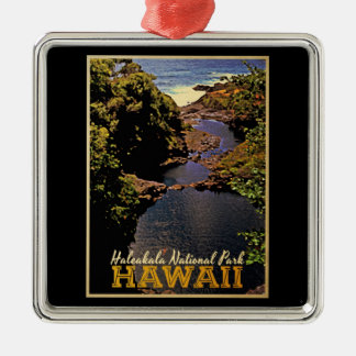 Haleakala National Park Hawaii Metal Ornament