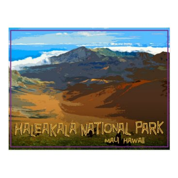 Beach Themed Haleakala National Park, Maui Hawaii Postcard