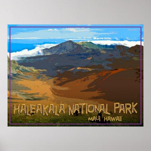 Haleakala National Park, Maui Hawaii Posters