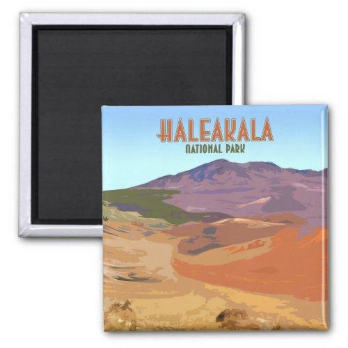 Haleakala National Park Maui Hawaii Vintage Magnet