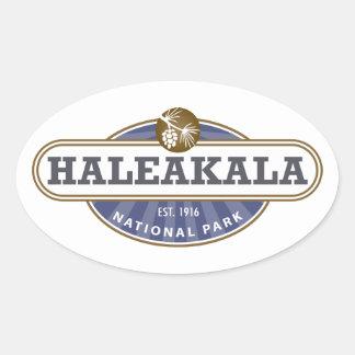 Haleakala National Park Oval Stickers