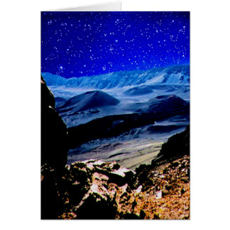 Haleakala Nights III Card
