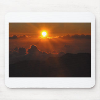 Haleakala Sunrise in Hawaii Mouse Pad