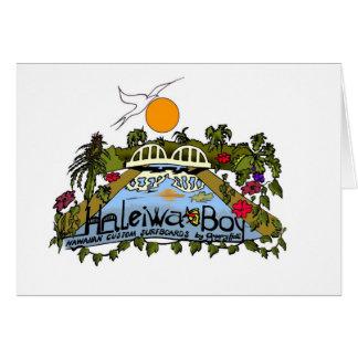 Haleiwa Boy Card
