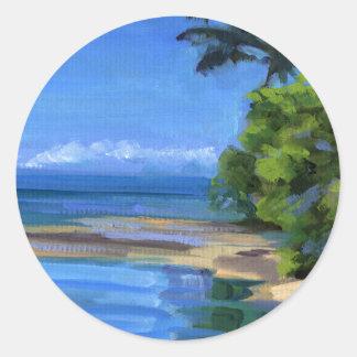 Haleiwa Classic Round Sticker