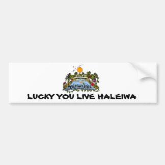 Haleiwa Girl products Bumper Sticker