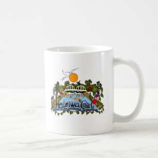 Haleiwa Girl products Classic White Coffee Mug