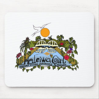Haleiwa Girl products Mouse Pad