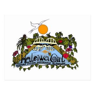 Haleiwa Girl products Postcard