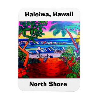Haleiwa Hawaii Oahu Aloha Magnet