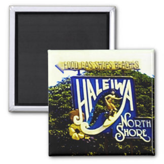 Haleiwa North Shore Hawaii magnet
