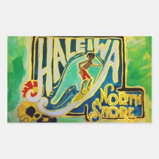 Haleiwa Sign Sticker