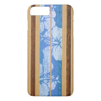 Haleiwa Surfboard Hawaiian Faux Wood iPhone 7 Plus Case